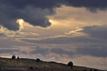 Hart Mountain Sunset