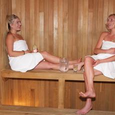 Sauna at WSpa