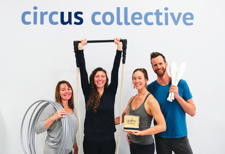 Photo of Levity Circus Collective Classes and Performance For Adults & Children