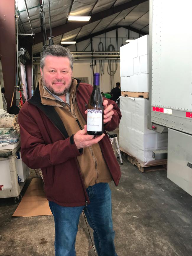 Photo of Mark Enlow Parkhurst Wine Cellar – Grand Opening