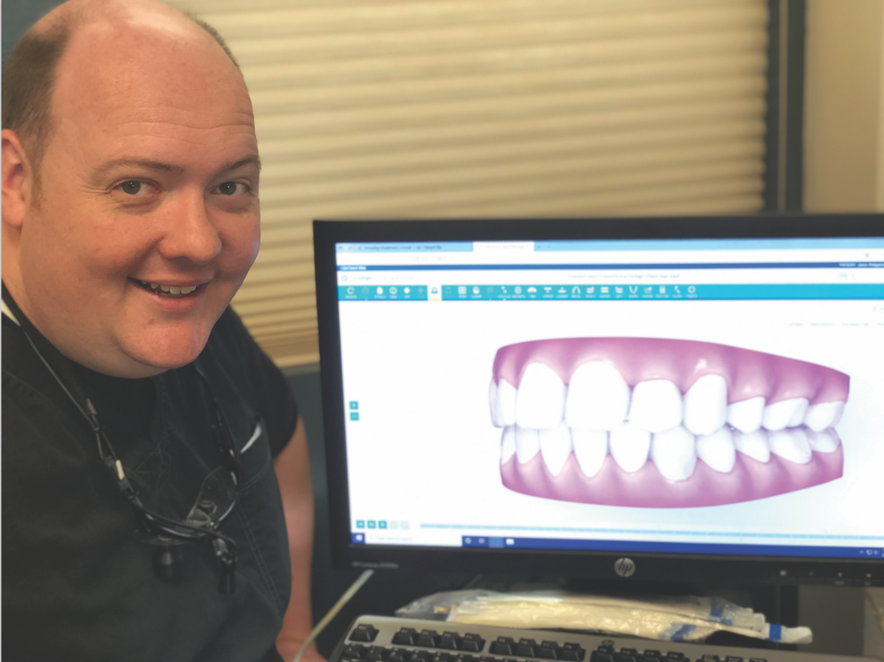 Photo of Dr. James Burneson – Today's Dentistry – Insights into Implants and Invisalign