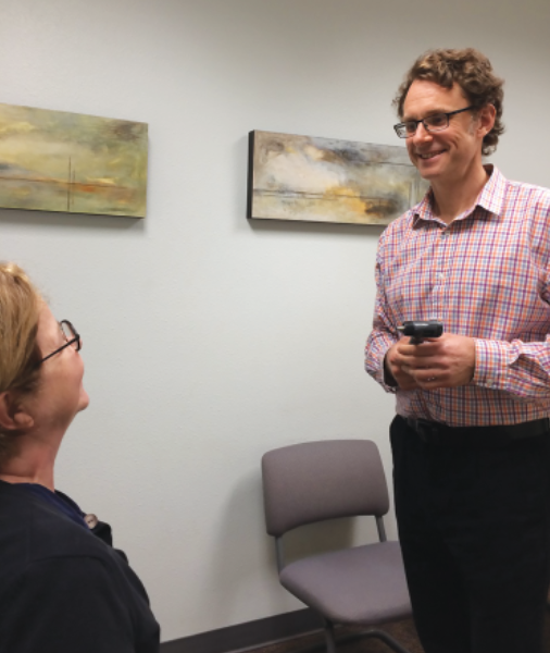 Photo of Dr. Chris Chlebowski – Ashland Natural Medicine