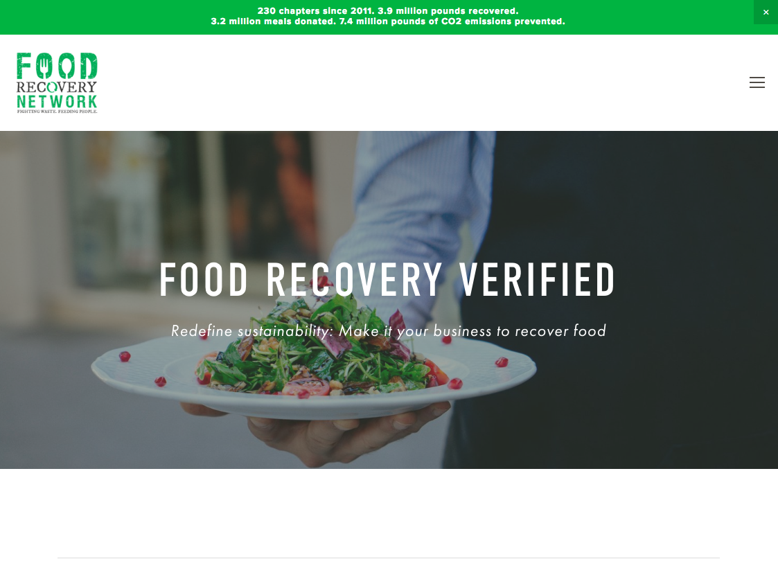 Photo of Food Recovery Network