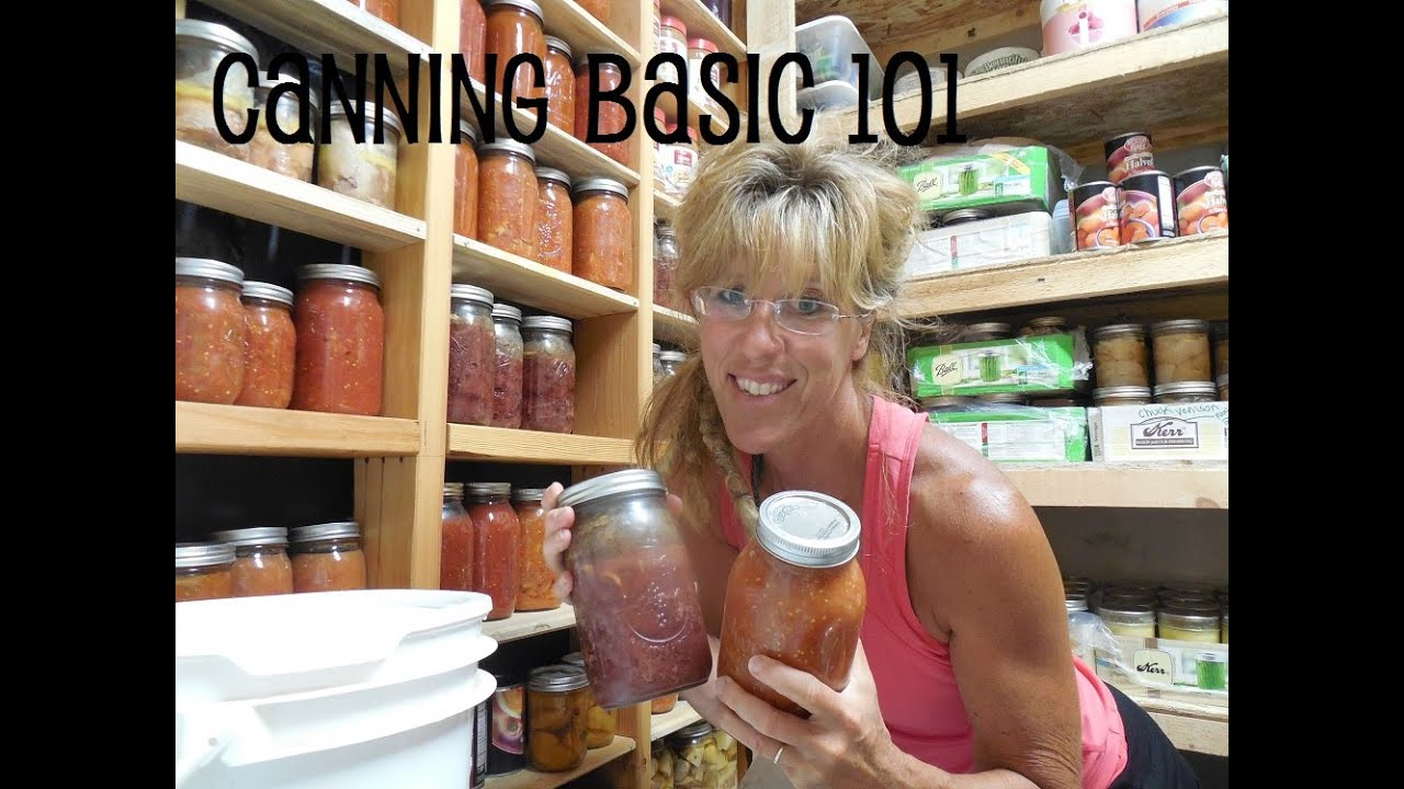 Photo of Canning 101: Basics for The New Homesteader