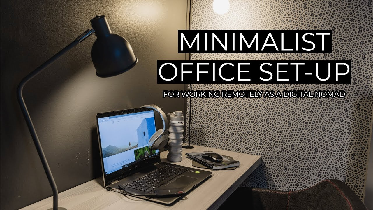 Photo of My Minimalist Office Set-Up For Working Remotely