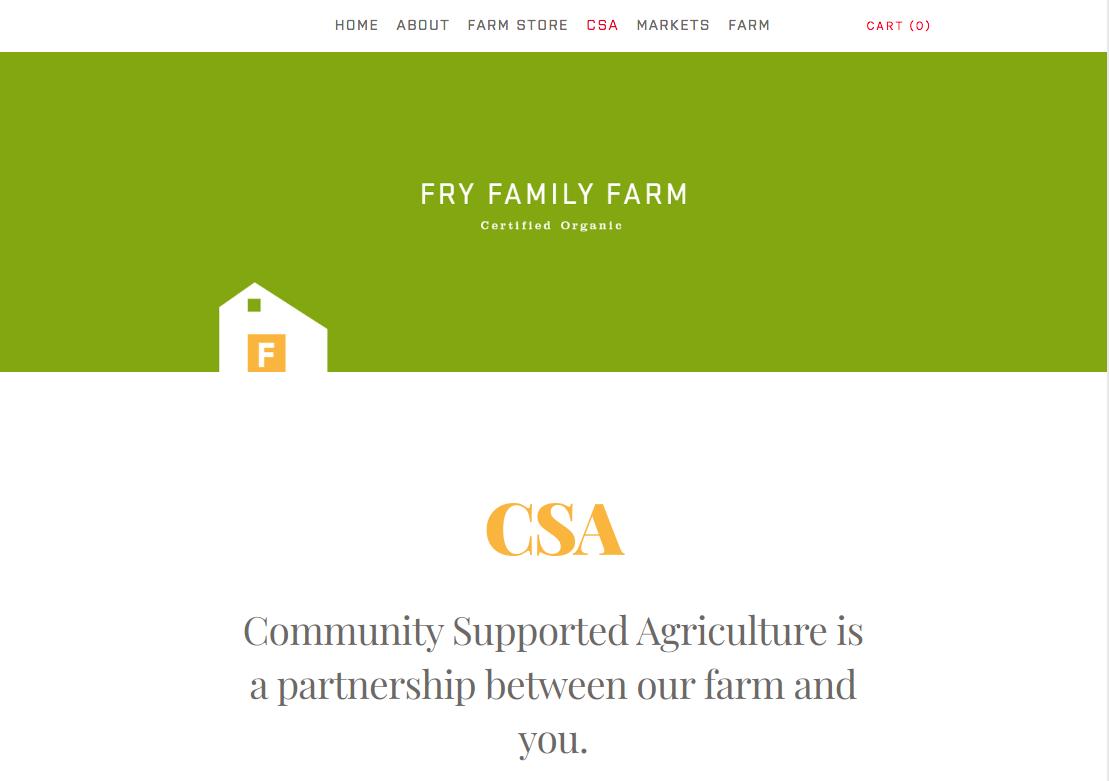 Photo of Fry Family Farm -CSA