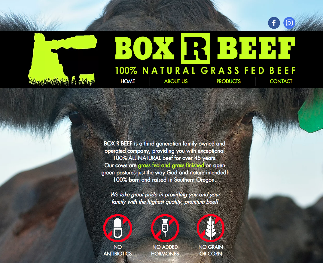 Photo of All Natural Grass Fed Beef | Southern Oregon | Box R Beef