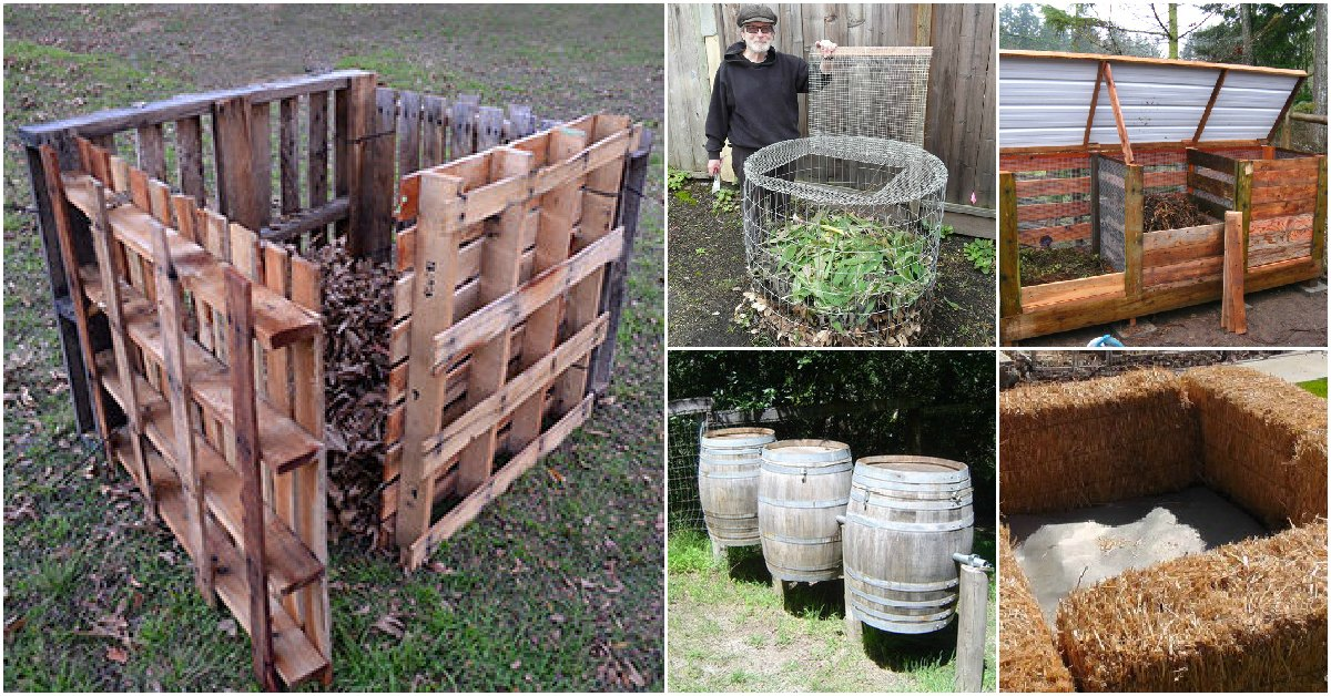 Photo of 35 Cheap And Easy DIY Compost Bins That You Can Build This Weeke